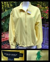 Vintage Ralph Lauren Polo Golf Bomber Members Only Jacket Rare L 80s 90s