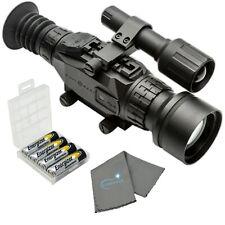 Sightmark Wraith HD 4-32x50 Digital Riflescope with 4 AA's, Battery Case, Cloth
