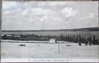 Skaneateles, NY 1930s Realphoto Postcard: Skaneateles Lake - New York