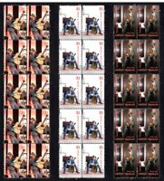 DWIGHT YOAKAM COUNTRY STAR SET OF 3 MINT VIGNETTE STAMP STRIPS 1