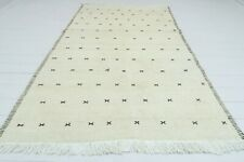 "Anatolian Small Turkish Kilim Doormat Bedroom 5x7 Wool Rug Tapis Carpet 51""x87"""