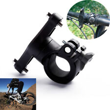 Mount Bike Bottle Cage Water Cup Holder Adapter 360 Degree Rotation Handlebar