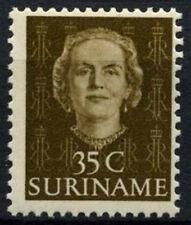Surinam 1951 SG401, 35c Olive Brown Definitive MNH #D44009