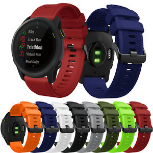 For Garmin Forerunner 745 Quick Release Watch Band Silicone Strap Bracelet 22mm