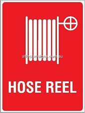 Hose Reel Sign Safety Signs Australian Made Quality Printed Sign