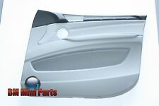 BMW E70 X5 FRONT RIGHT LEATHER DOOR CARD GREY 51419133536