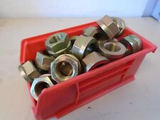 """7/8"""" -14 Fine Thread Spiralock Flange Hexagonal Nuts - 30 pieces"""