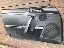 PORSCHE 2007-11 997 GT3 LEFT BLACK DOOR PANEL Driver Side 911 Card