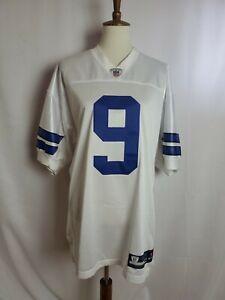 Reebok Authentic Dallas Cowboys Tony Romo  Home (White) Jersey Size 48 NWT