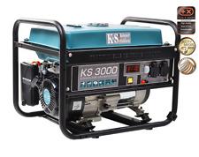 KS 3000 Stromerzeuger Stromgenerator Benzin Notstromaggregat 3.0 kW
