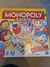 Monopoly Hasbro Junior party Board Game