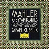 MAHLER: 10 SINFONIEN (LTD ED.) - KUBELIK,RAFAEL/SOBR  10 CD + BLU RAY AUDIO NEW