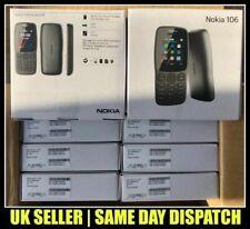 Nokia 106 Dual SIM Mobile Phone UNLOCKED Dark Grey Colour with FREE O2 SIM