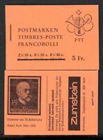 Schweiz Markenheftchen MiNr. MH 53 p postfrisch MNH (F457