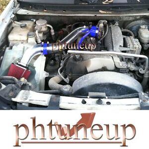 BLUE RED 2002-2005 Chevy TrailBlazer GMC Envoy 4.2 4.2L AIR INTAKE KIT