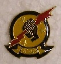 Hat Lapel Push Tie Tac Pin USN VF-213 Black Lions NEW