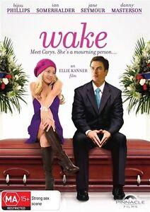 Wake (DVD, 2011) Bijou Phillips / Ian Somerhalder / Danny Masterson - New Sealed