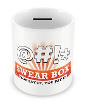 Swear Jar MONEY BOX Gift Idea Dad Son Cursing Naughty Uncle Savings Great #45