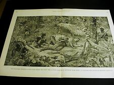 Abonshuba Africa STANLEY-EMIN Dr. PARKE POISON Medical STAIRS 1890 Large Print