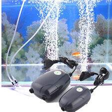 3W High Energy Efficient Aquarium Oxygen Fish Air Pump Tank Super Silent Pume A