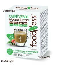10 Capsule CAFFE' VERDE GANODERMA FoodNess Compatibili Dolce Gusto Senza Glutine