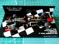 Kimi RAIKKONEN - MINICHAMPS 410120109 - LOTUS - E20 - BAHRAIN GP 2nd Place