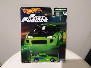Hot Wheels Premium Fast & Furious Original Fast 2/5 '95 Mitsubishi Eclipse