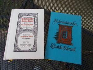 Sechsämterischer Kloaida - Schrank Band 1 - 3 - Fichtelgebirge - Wunsiedel....