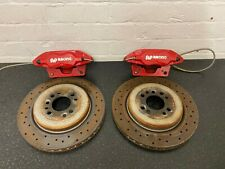 MINI COOPER S JCW R53 R56 AP 304MM FRONT BRAKE CALIPERS WITH DISKS AND PADS