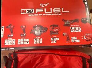 Milwaukee M18FPP6D2-503B 18V Fuel 6 Piece Kit (3 x 5.0Ah Batts) BRAND NEW