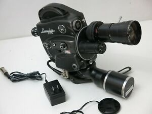 Beaulieu R16 Motion Picture Camera Serviced + ANGENIEUX 12.5-75mm New Battery