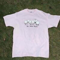 Bar Harbor Maine Vintage 80s 90s Graphic T Shirt Pink Single Stitch Made In USA