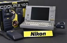 Nikon Coolpix 100 digital camera + Toshiba Libretto 20 advertised together 1996!