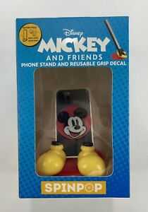 ~NEW~SPIN POP-DISNEY 'Mickey&Friends' MICKEY Phone Stand&Reusable Grip Decal
