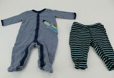 Carter's Baby One-Piece and Bottoms Space Themed Size 3 Months