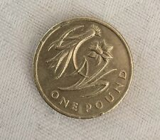 2013 £1 (one pound) coin. Welsh Floral Daffodil & Leek.