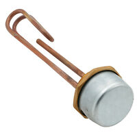"11"" Universal Immersion Heater Hot Water Boiler Thermostat ELEMENT 3000W Copper"
