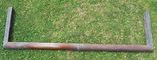 Edwardian / Victorian Antique Copper Fire Fender Very Plain Simple Design