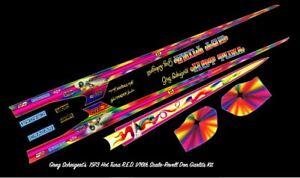 1/16 HOT TUNA 1973 R.E. DRAGSTER DECAL/REVELL/MPC/POLAR LIGHTS