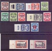Dt. Reich 1939 - Danzig - MiNr. 716/729 postfrisch** - Michel 220,00 € (243)