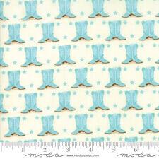 MODA Fabric ~ HOWDY ~ Stacy Iest Hsu (20554 11) Porcelain/Spray - by 1/2 yard