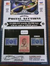 Universal Philatelic Auctions Catalogue January 2014