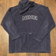 Vintage Nike Athletic Fleece Blue Size Large