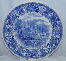 "Villeroy & Boch V&B Burgenland 12"" Blue Transfer Plate Charger Platter Germany"