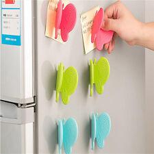 New Oven Heat Insulated Finger Glove Mitt Microwave Non-Slip Random Color