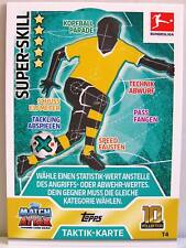 Match Attax 2017/18 Bundesliga - T004 Super-Skill - Taktik-Karte