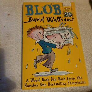 Blob - David Walliams Paperback Book.