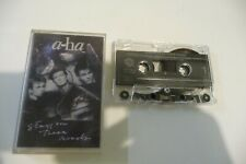 A-HA K7 AUDIO TAPE CASSETTE. STAY ON THESE ROADS.