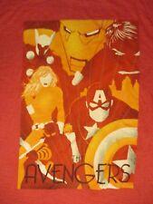 M red AVENGERS COMIC SUPERHERO t-shirt by THE AVENGERS