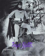 ADAM WEST BATMAN 1966 SIGNED AUTOGRAPHED 10X8 REPRO PHOTO PRINT N2